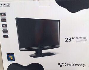 "23""  GateWay wide LCD monitor/TV"
