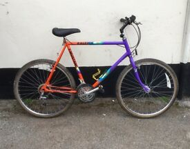 "GENTS RALEIGH MOUNTAIN BIKE 21"" FRAME £45"