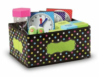 TCR 20764 Chalkboard Brights Storage Bin Classroom Organization Station ](Classroom Storage)