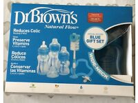 3 Dr. Brown Natural Flow Baby Bottles