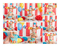 {Custom Cake Smash & Portrait Sessions.. Large Prop Collection}