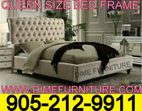 NO TAX QUEEN OR DOUBLE SIZE BED FRAME ONLY $699