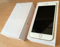 Iphone 6 plus 64g white gold like new