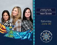 Canadian Folk Trio Trent Severn Playing Aboard MS Chi-Cheemaun