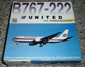 Dragon Wings 1/400 Boeing 767-200 United Airlines