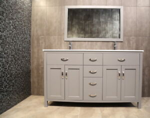 ⎷⎛Contemporary Bathroom Vanity & Cabinet Urban Flare AG60D