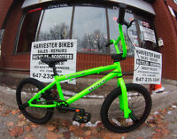 BRAND NEW Hutch Cougar 16″ & 18″ BMX Bicycles @ Harvester Bikes