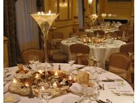 Rose Gold Cutlery Hire £1.99 Reception Decoration Hire £4pp Starlight Dance Floor Rental £349 SALE