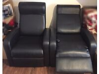 | LEATHER RECLINER CHAIR | HEAT/MASSAGE | REDUCED PRICE TO CLEAR! |** £130 ono** | (ONLY 1 LEFT) |