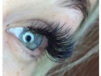 Eyelash extensions, semi permanent Russian volume. 3D-6D.07526299916