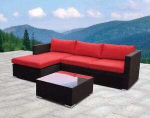 Outdoor Sectional Sofa/Divan! Sunbrella! New
