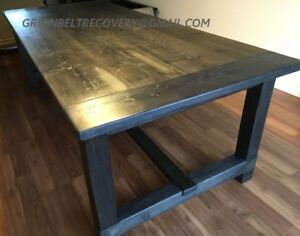 NEW SALVAGED RECLAIMED WOOD FARMHOUSE DINING TABLE