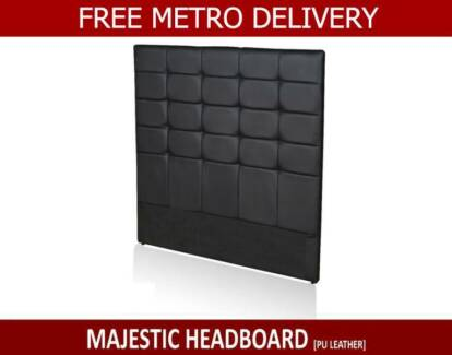 QUEEN  Fabric / PU Leather Headboard / Bed Head < FREE DELIVERY >