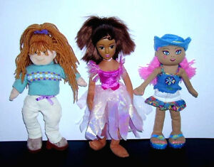 3 Soft Dolls in Excellent Condition :Clean : Smoke Free