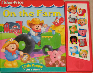 Fisher Price - Little People On The Farm Flap & Sound Large Book London Ontario image 1