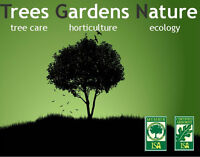TGN - Certified and qualified in tree care, horticulture