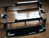 Kit thule barres-déflecteur- rack ski  (Civic 2 portes 06-09)