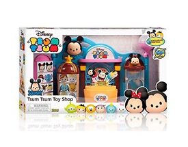 Tsum Tsum Squishies Playset Toy Shop New
