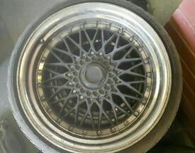 "Bbs rs 19"" inch 9JJ mint streched tyres"