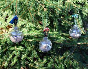 Driftwood Christmas Bulbs
