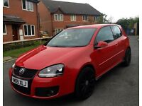 VOLKSWAGEN GOLF GTI DSG AUTO 2005 3DR RE-MAPEED AND MILTEX SOUNDS AWESOMELY LOUD!