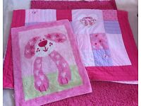 Puppy Love quilted throw And rug from NEXT