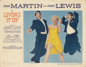 ORIGINAL 1954 JERRY LEWIS DEAN MARTIN LOBBY CARD #7 MOVIE POSTER