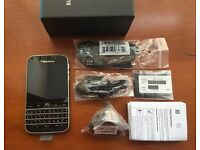 Brand new sim free original Blackberry Classic sealed box with full accessories in stck
