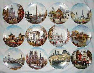 Collection of plates / Collection d'assiettes - Louis Dali