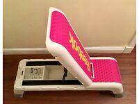Pristine Reebok Professional Deck Workout Bench and Aerobic Step