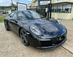 2018 Porsche 911 991 MY19 Carrera T Black 7 Speed Auto Dual Clutch Coupe Port Macquarie Port Macquarie City Preview