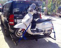 Support moto / scooter jusqu'à 1000lb / 450kg