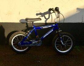 "BOYS MAGNA BIKE 16"" WHEELS £20"