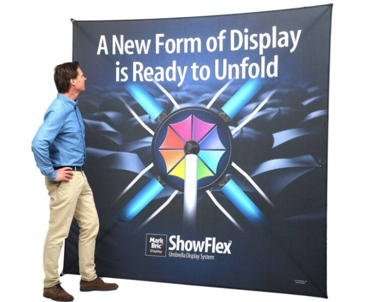 ShowFlex Umbrella tension fabric displays