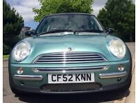 Mini Cooper - 12 months mot with super low miles
