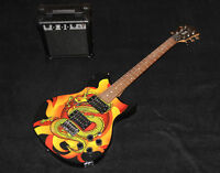 Vince Niel Limited Guitar with amp $180