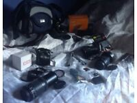 CANON 1200D 18MP 4 LENS MASSIVE BUNDLE WITH NEW ITEMS!