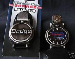 "FS: 2007 Muscle Car Garage ""1969 Dodge Charger"" Belt Watch"