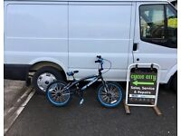 "BOYS BMX BIKE 20"" WHEELS £35"