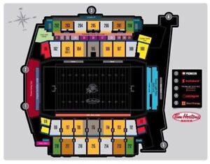 4 Hamilton Tiger-Cats Home Opener Tickets vs Winnipeg