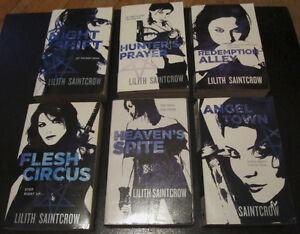 Jill Kismet Series by Lilith Saintcrow PB
