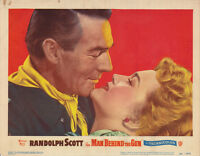 RARE ORIGINAL 1952 RANDOLPH SCOTT WESTERN COWBOY MOVIE POSTER
