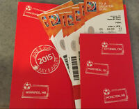 6 tickets in a row FIFA World Cup Final USA vs Japan - $250