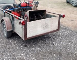 I pick up your old mowers and junk equipment free
