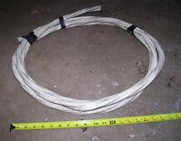 Fil calibre 3-3 pour 240V 125 Amps // 6m de long (18 pieds)