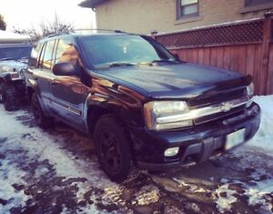 For sale Black 2002 Chevrolet Trailblazer