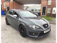 2010 SEAT LEON FR TSI NARDOE GREY HPI CLEAR FSH CHEAPEST IN UK £4795 PX BMW Audi golf Gti