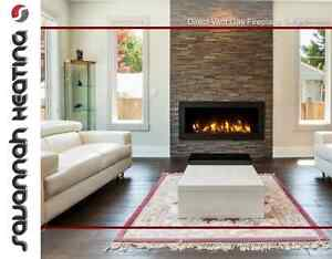 Linear Gas Fireplaces CHEAP! BLOW OUT PRICE $895