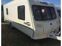 Bailey pageant vendee fixed bed side shower 2007 touring caravan