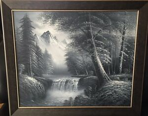 Custom framed amazing quality oil painting